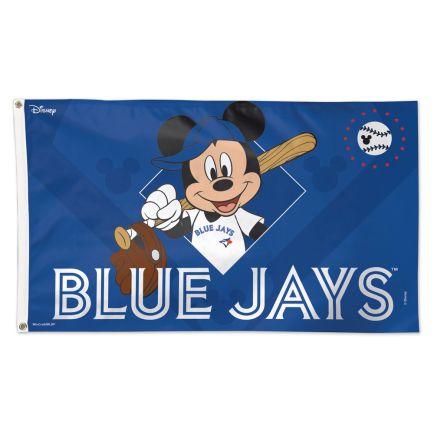 Toronto Blue Jays / Disney Flag - Deluxe 3' X 5'