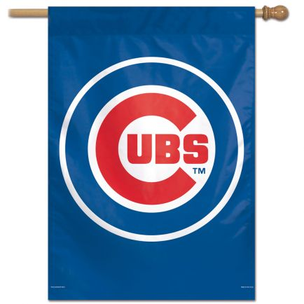 "Chicago Cubs Vertical Flag 28"" x 40"""