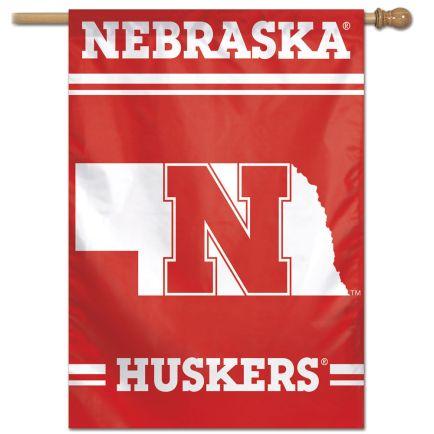"Nebraska Cornhuskers Vertical Flag 28"" x 40"""