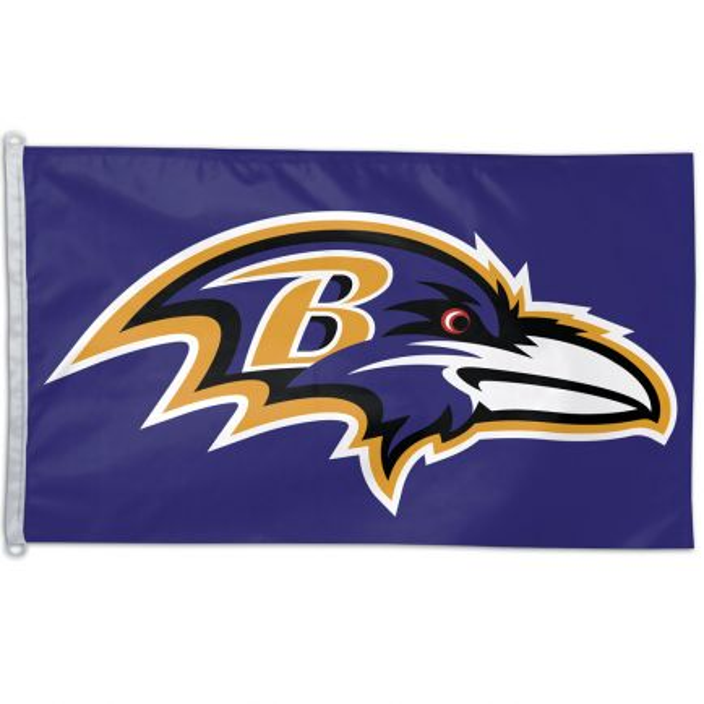 Baltimore Ravens Flag - Team 3' X 5'