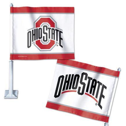 "Ohio State Buckeyes Car Flag 11.75"" x 14"""