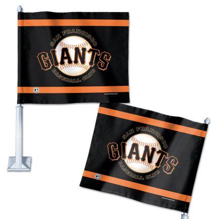 """San Francisco Giants Car Flag 11.75"""" x 14"""""""