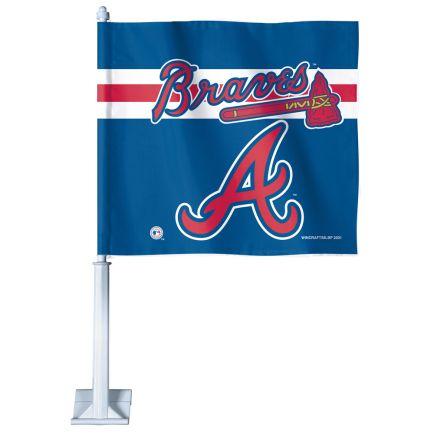 """Atlanta Braves Car Flag 11.75"""" x 14"""""""
