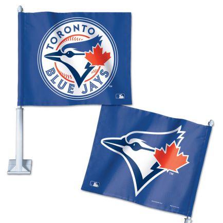 "Toronto Blue Jays Car Flag 11.75"" x 14"""