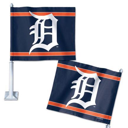 "Detroit Tigers Car Flag 11.75"" x 14"""