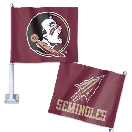 "Florida State Seminoles Car Flag 11.75"" x 14"""