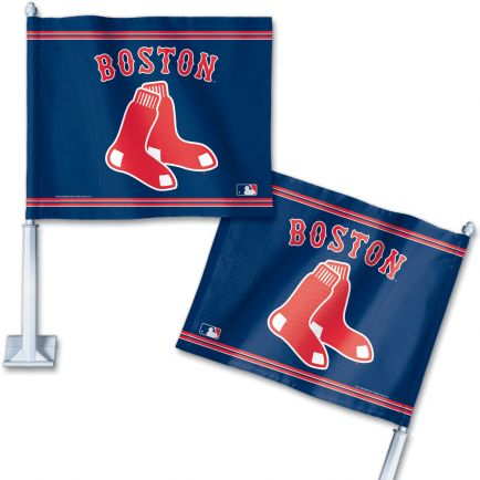 "Boston Red Sox Car Flag 11.75"" x 14"""