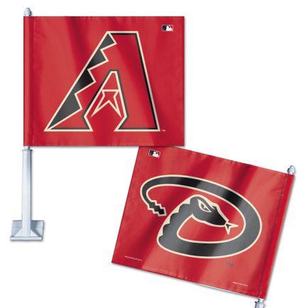 """Arizona Diamondbacks Car Flag 11.75"""" x 14"""""""