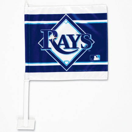 "Tampa Bay Rays Car Flag 11.75"" x 14"""