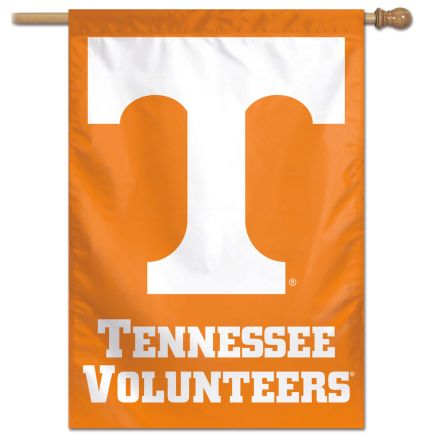 "Tennessee Volunteers LOGO FONT Vertical Flag 28"" x 40"""