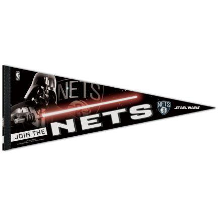 """Brooklyn Nets / Star Wars star wars Premium Pennant 12"""" x 30"""""""