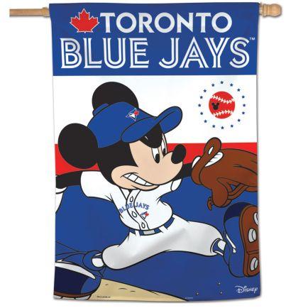 "Toronto Blue Jays / Disney Vertical Flag 28"" x 40"""