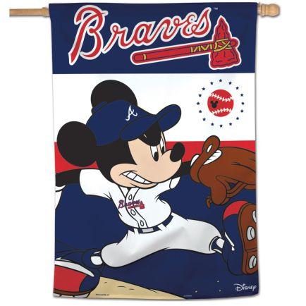 "Atlanta Braves / Disney Vertical Flag 28"" x 40"""