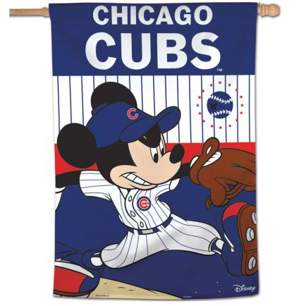 "Chicago Cubs / Disney Vertical Flag 28"" x 40"""