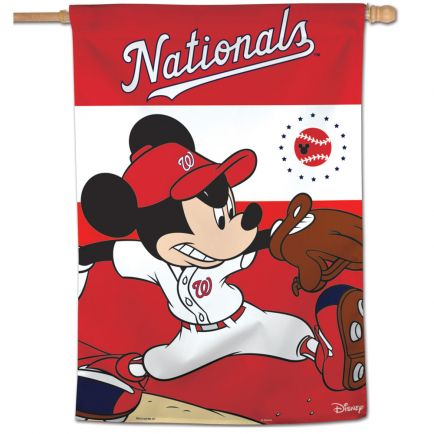 "Washington Nationals / Disney Vertical Flag 28"" x 40"""