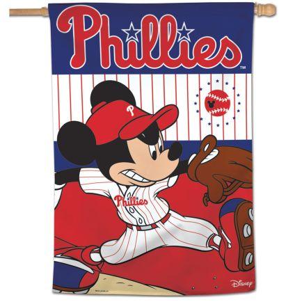 "Philadelphia Phillies / Disney Vertical Flag 28"" x 40"""