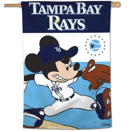 "Tampa Bay Rays / Disney Vertical Flag 28"" x 40"""