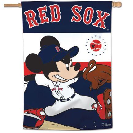 "Boston Red Sox / Disney Vertical Flag 28"" x 40"""