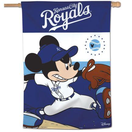 "Kansas City Royals / Disney Vertical Flag 28"" x 40"""