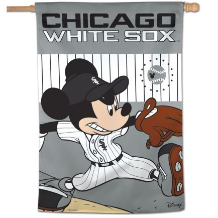 "Chicago White Sox / Disney Vertical Flag 28"" x 40"""