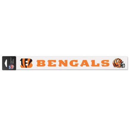 """Cincinnati Bengals Perfect Cut Decals 2"""" x 17"""""""