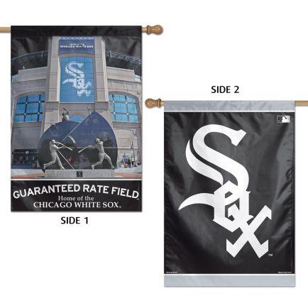 """Chicago White Sox Stadium MLB Vertical Flag 2 Sided 28"""" x 40"""""""