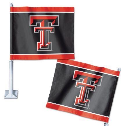"""Texas Tech Red Raiders Car Flag 11.75"""" x 14"""""""