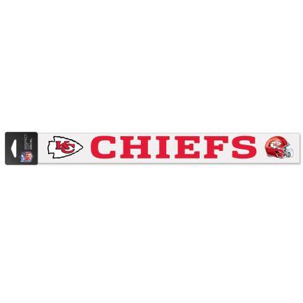 """Kansas City Chiefs Perfect Cut Decals 2"""" x 17"""""""