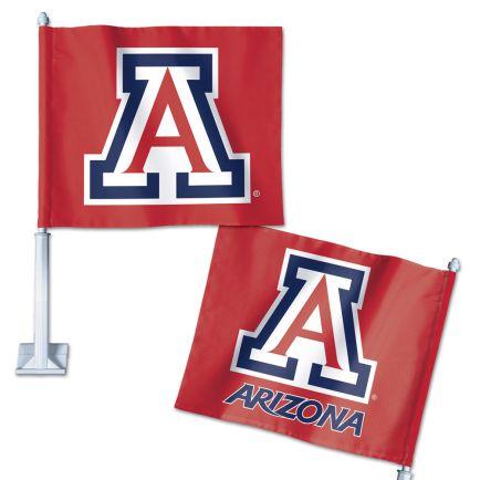 "Arizona Wildcats Car Flag 11.75"" x 14"""