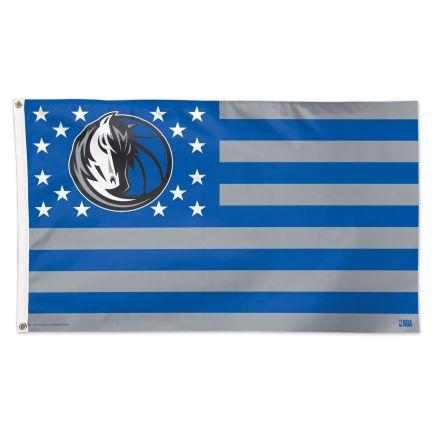 Dallas Mavericks / Patriotic Flag - Deluxe 3' X 5'