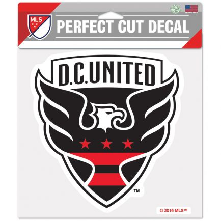 "D.C. United Perfect Cut Color Decal 8"" x 8"""