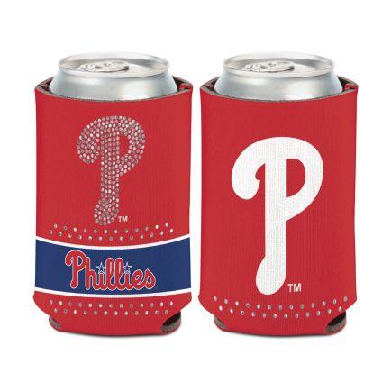Philadelphia Phillies Bling Can Cooler 12 oz.