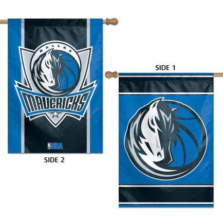 "Dallas Mavericks Vertical Flag 2 Sided 28"" x 40"""