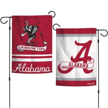 "Alabama Crimson Tide /College Vault Garden Flags 2 sided 12.5"" x 18"""