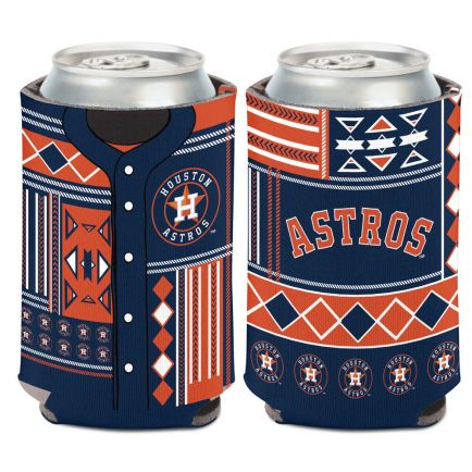 Houston Astros UGLY SWEATER Can Cooler 12 oz.