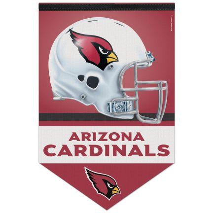 "Arizona Cardinals Premium Felt Banner 17"" x  26"""