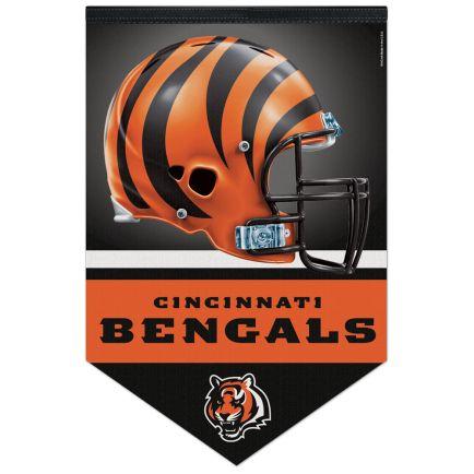 "Cincinnati Bengals Premium Felt Banner 17"" x  26"""