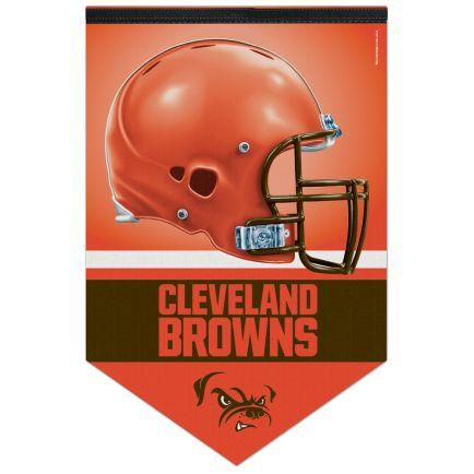 """Cleveland Browns Premium Felt Banner 17"""" x  26"""""""