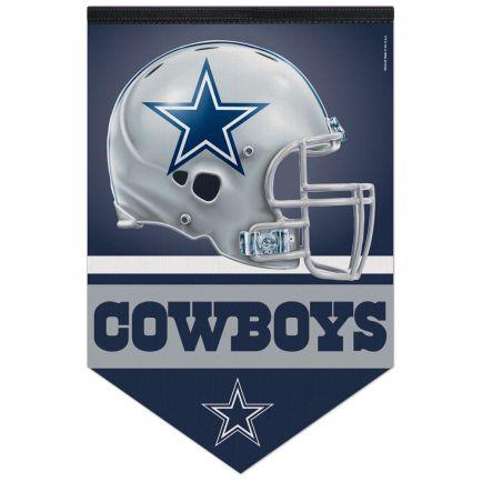 "Dallas Cowboys Premium Felt Banner 17"" x  26"""