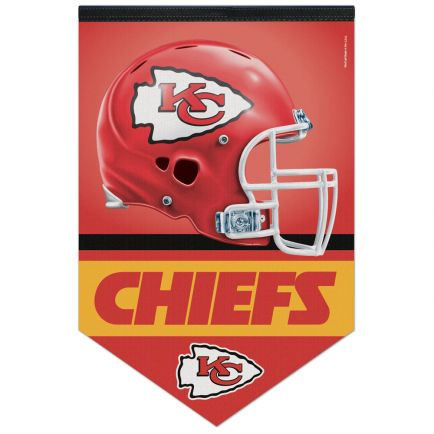 "Kansas City Chiefs Premium Felt Banner 17"" x  26"""