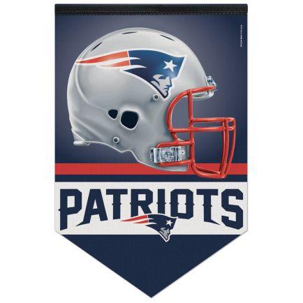 "New England Patriots Premium Felt Banner 17"" x  26"""