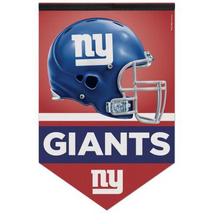 """New York Giants Premium Felt Banner 17"""" x  26"""""""
