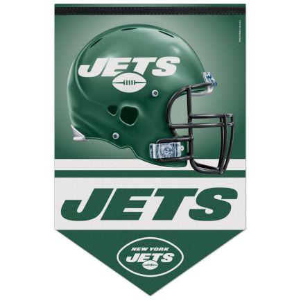 "New York Jets Premium Felt Banner 17"" x  26"""