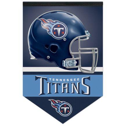 "Tennessee Titans Premium Felt Banner 17"" x  26"""