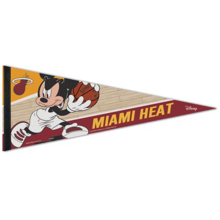 """Miami Heat / Disney Premium Pennant 12"""" x 30"""""""