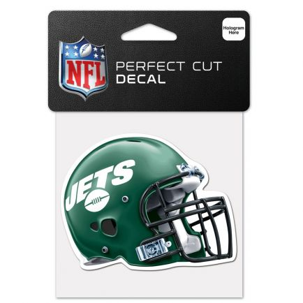 """New York Jets Perfect Cut Color Decal 4"""" x 4"""""""