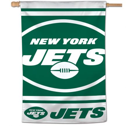 "New York Jets Vertical Flag 28"" x 40"""