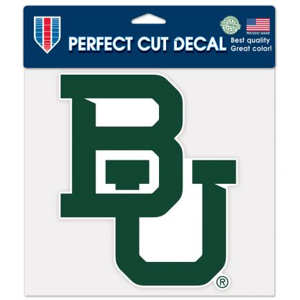 "Baylor Bears Perfect Cut Color Decal 8"" x 8"""