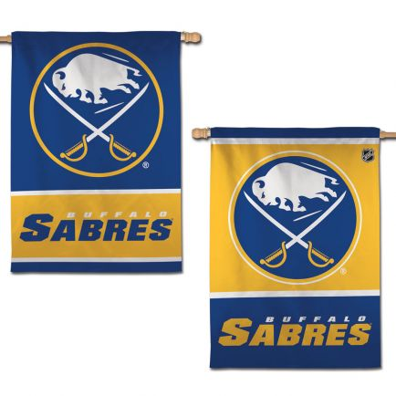 "Buffalo Sabres Vertical Flag 2 Sided 28"" x 40"""