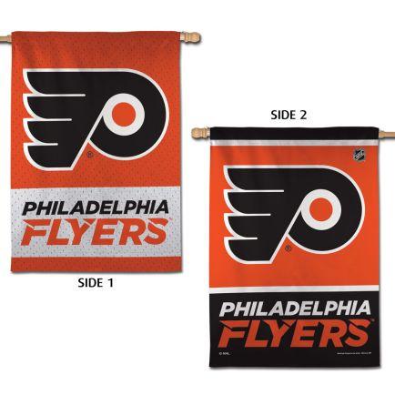 """Philadelphia Flyers Vertical Flag 2 Sided 28"""" x 40"""""""